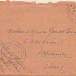Enveloppe du 25/09/1945